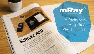 Bericht über mRay im Radiologie Magazin & KH-IT Journal
