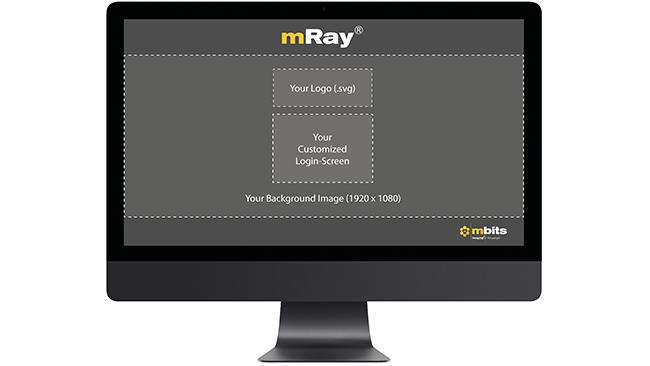 mray personalisiertes uploadportal
