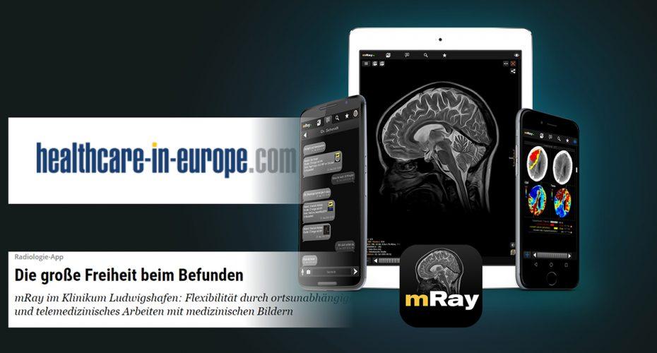 healthcare in europe berichtet über mray